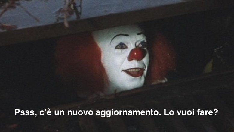 Pagliaccio del film IT